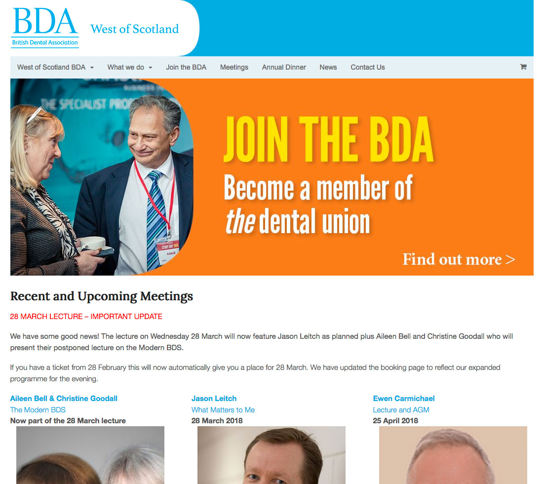 BDA west of Scotland