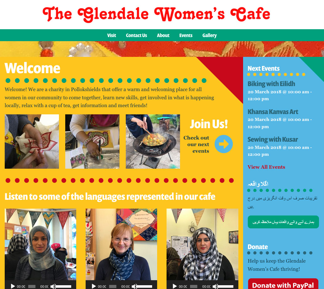 glendale womens cafe