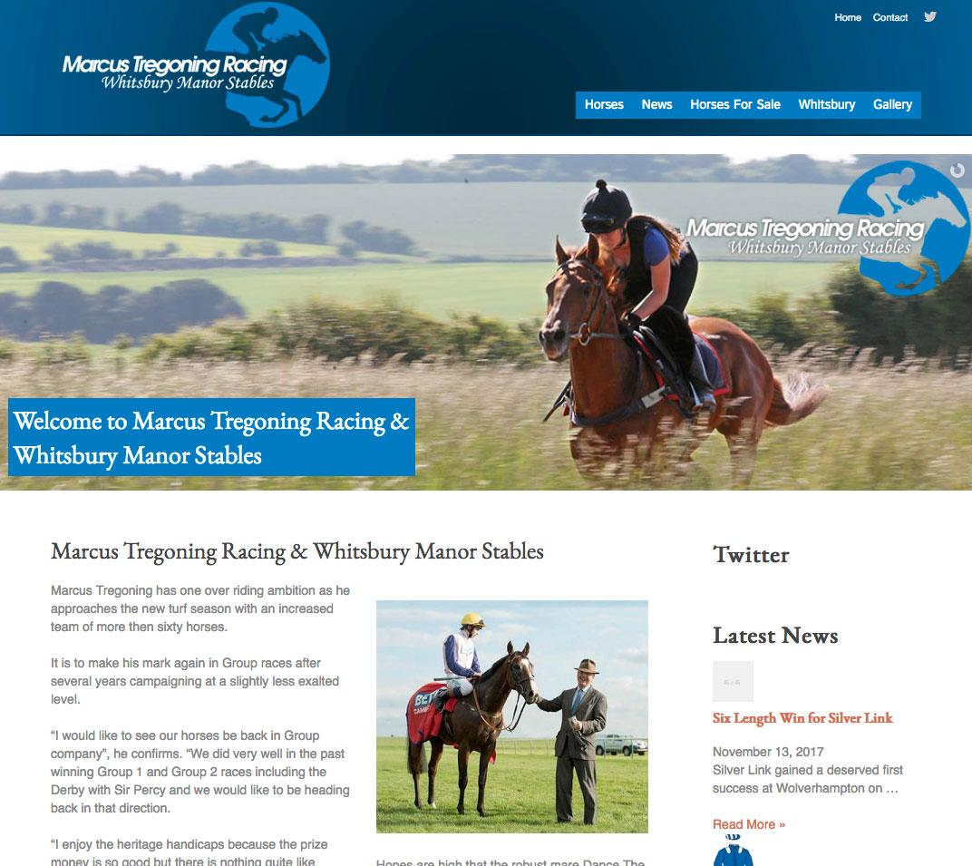 marcus tregoning racing
