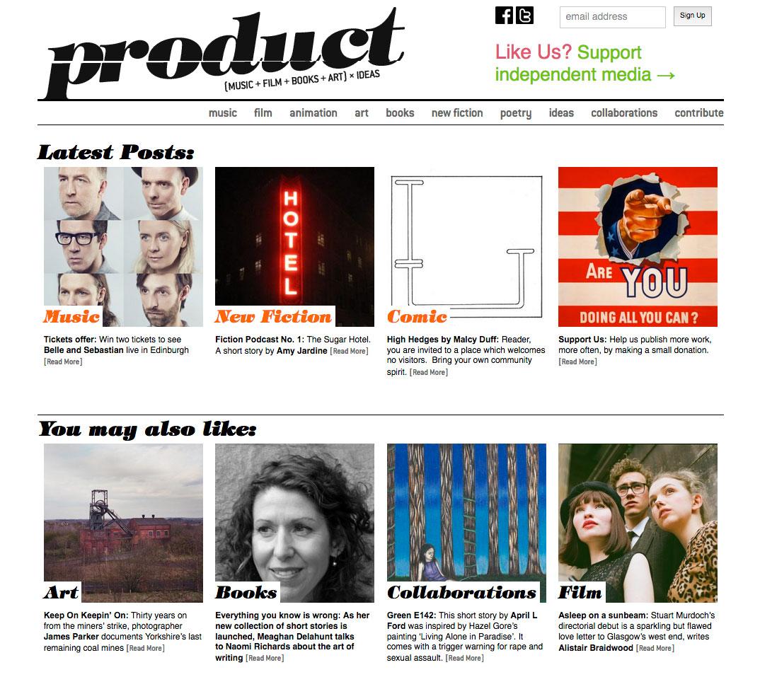 product magazine